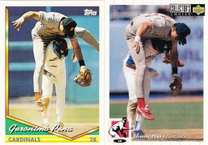 1994 Topps - Collector's Choice Geronimo Pena