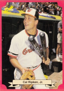 1998 Classic Update Red Travel Edition Cal Ripken