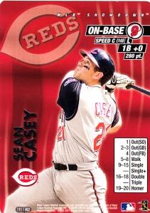 2001 MLB Showdown Sean Casey