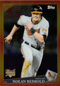 2009 Topps Red Hot Rookies Nolan Reimold