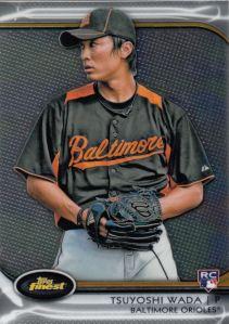 2012 Topps Finest Tsuyoshi Wada