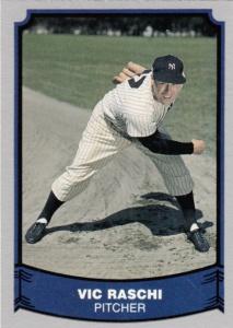 Pacific Baseball Legends Vic Raschi