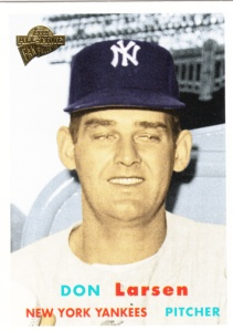 Topps All-Time Fan Favorites Don Larsen