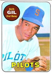 1969 Topps Gus Gil