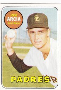 1969 Topps Jose Arcia