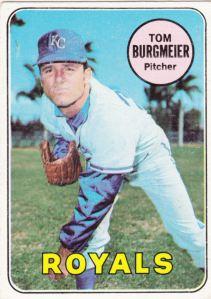 1969 Topps Tom Burgmeier
