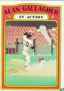 1972 Topps Alan Gallagher
