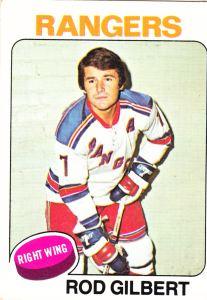 1975-76 Topps Rod Gilbert