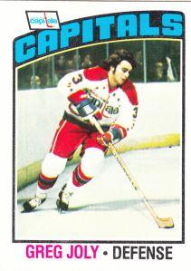 1976-77 Topps Greg Joly