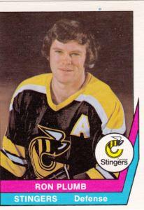 1977-78 OPC WHA Ron Plumb