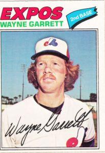 1977 OPC Wayne Garrett