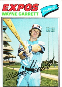 1977 Topps Wayne Garrett