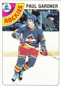 1978-79 Topps Hockey Paul Gardner