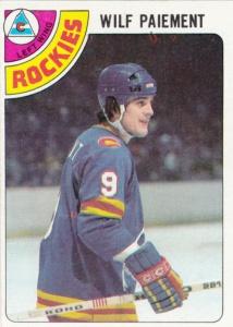 1978-79 Topps Hockey Wilf Paiement