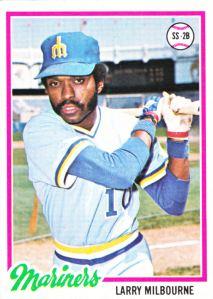 1978 Topps Larry Milbourne