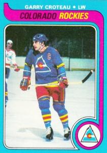 1979-80 Topps Hockey Garry Croteau