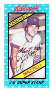 1980 Kellogg's Lee Mazzilli