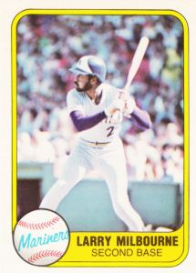 1981 Fleer Larry Milbourne