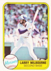 1981 Fleer Larry Milbourne