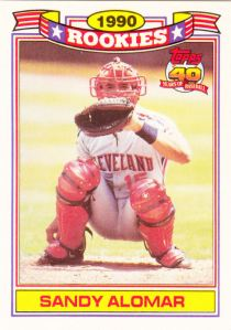 1991 Topps Glossy Rookies Sandy Alomar