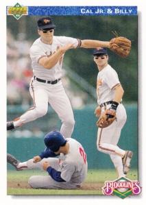 1992 UD Cal & Billy Ripken