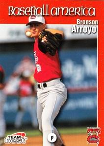 1999 Best Baseball America Bronson Arroyo