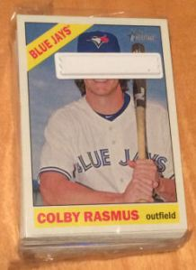 2015 Topps Heritage Colby Rasmus still wrapped