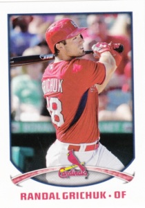 2015 Topps Stickers Randal Grichuk