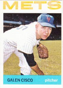 1964 Topps Galen Cisco