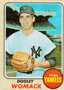 1968 Topps Dooley Womack