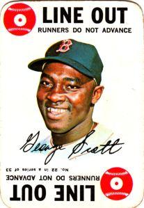 1968 Topps Game George Scott