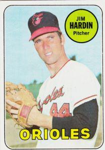 1969 Topps Jim Hardin