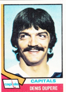 1974-75 Topps Denis Dupere