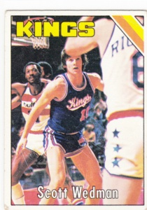 1975-76 Topps Basketball Scott Wedman