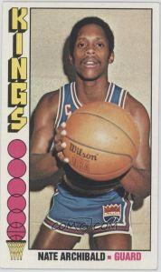 1976-77 Topps #20 - Nate Archibald - Courtesy of COMC.com