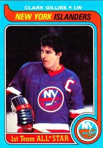 1979-80 Topps Hockey Clark Gilles
