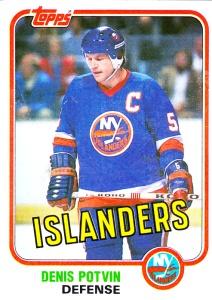 1981-82 Topps Hockey Denis Potvin