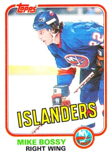 1981-82 Topps Hockey Mike Bossy