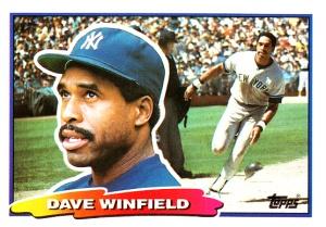 1988 Big Baseball Dave Winfield