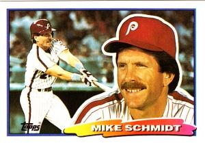1988 Big Baseball Mike Schmidt