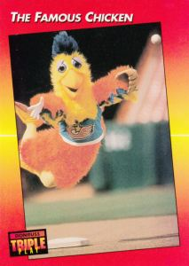 1992 Donruss Triple Play Famous Chicken
