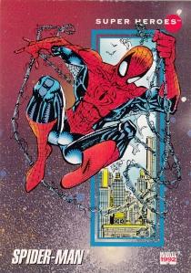 1992 Impel Marvel #1 Spider-Man