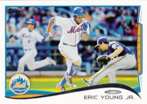 2014 Topps Eric Young Jr