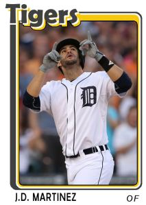2015 TSR #14 - JD Martinez