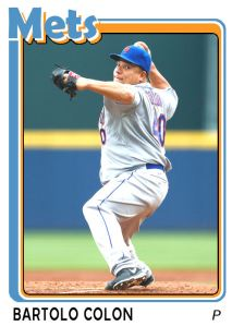 2015 TSR #18 - Bartolo Colon