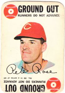 1968 Topps Game Pete Rose