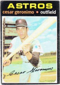 1971 Topps Cesar Geronimo