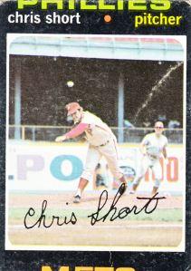 1971 Topps Chris Short