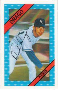 1972 Kelloggs Dick Drago