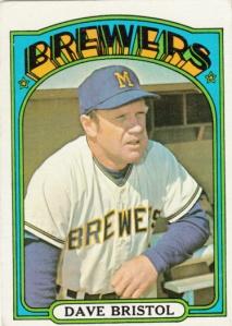 1972 Topps Dave Bristol